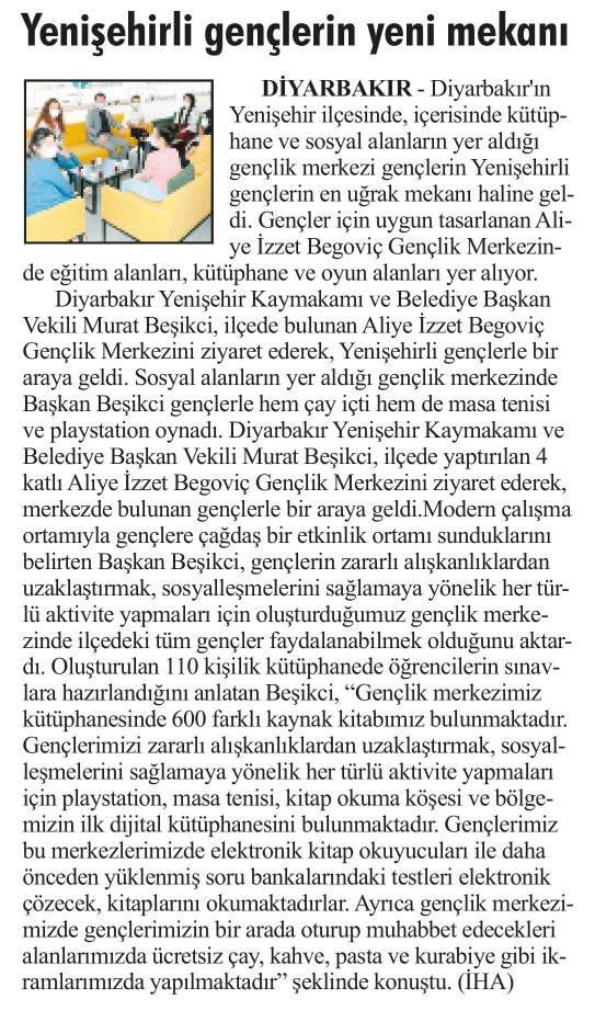 Özgür Haber Gazetesi - 28 Haziran 2021