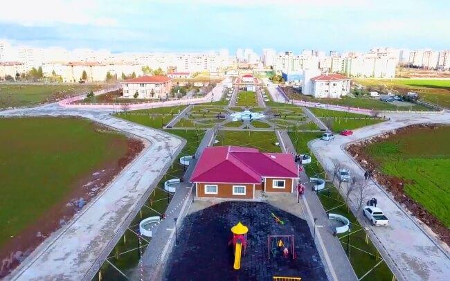 """""""Nureddin Mahmut Zengi Parkı"""" Projesi"""